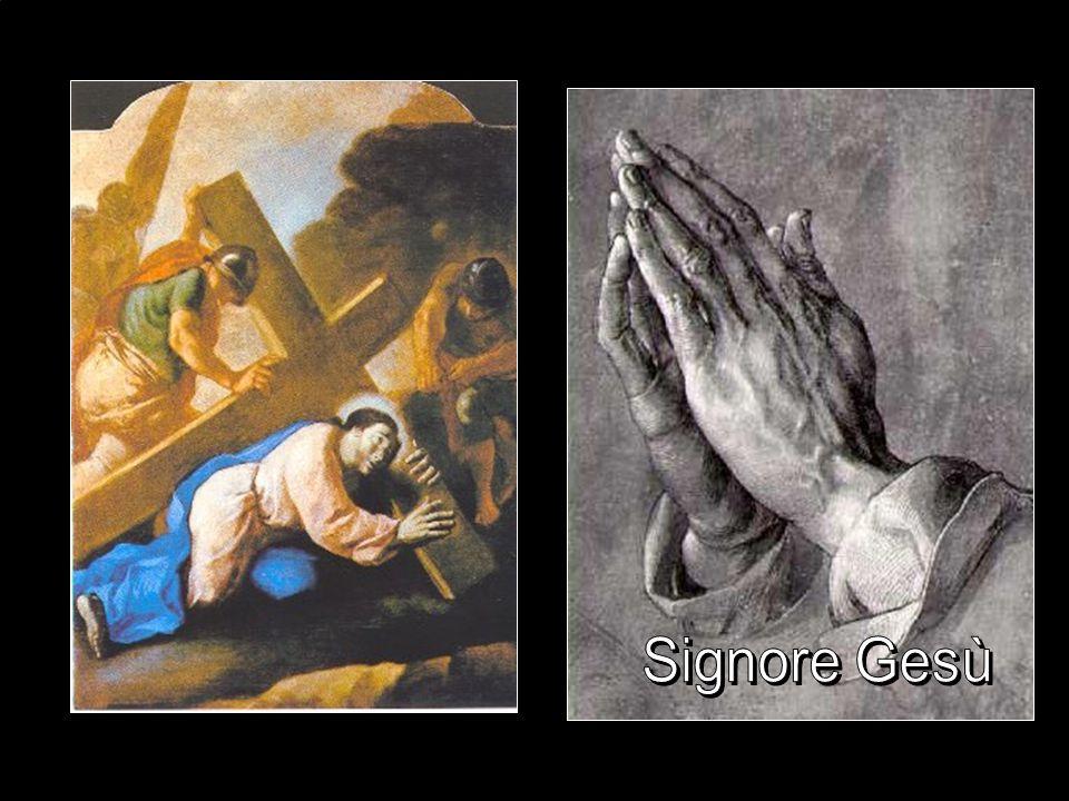 Seconda stazione Gesù prende la Croce fino al Calvario Colui la cui parola è irresistibile si lascia ora condurre serenamente alla morte per riparare