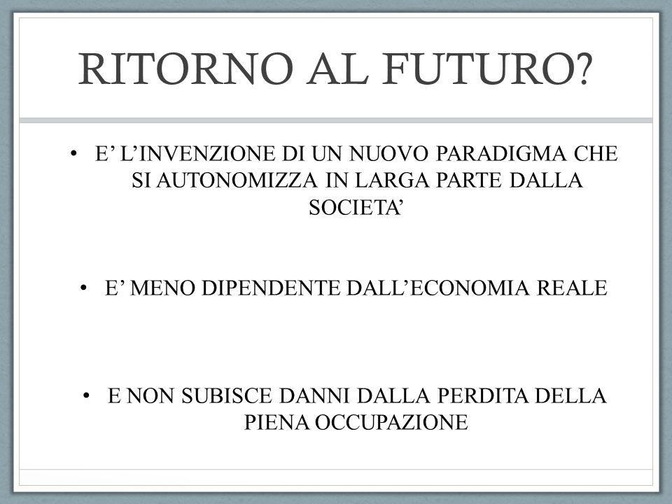 RITORNO AL FUTURO.
