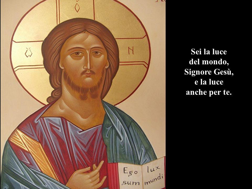 e ci hai parlato del tuo amore del tuo regno eterno Lassù.