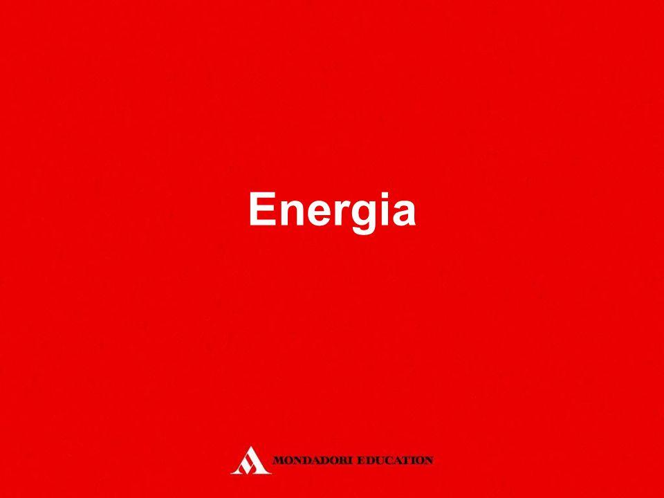 Le forme di energia/Attività RICONOSCI LE FORME DI ENERGIA ATTIVITÀ Individua almeno 5 processi di trasformazione dell'energia che puoi osservare quotidianamente.