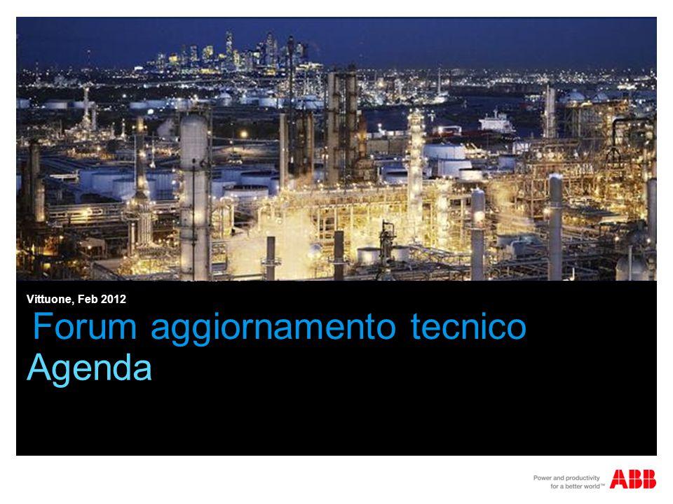 Forum aggiornamento tecnico Agenda Vittuone, Feb 2012