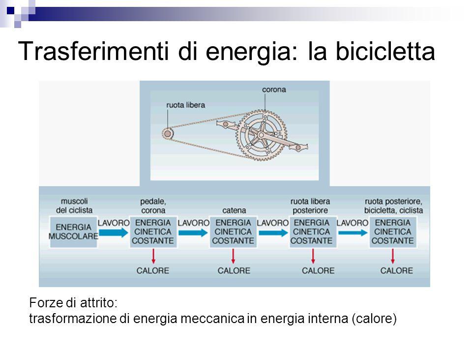 5.1 Calore e lavoro Il calore è l'energia che viene trasferita tra due corpi che si trovano inizialmente a temperature diverse. E' energia in transito