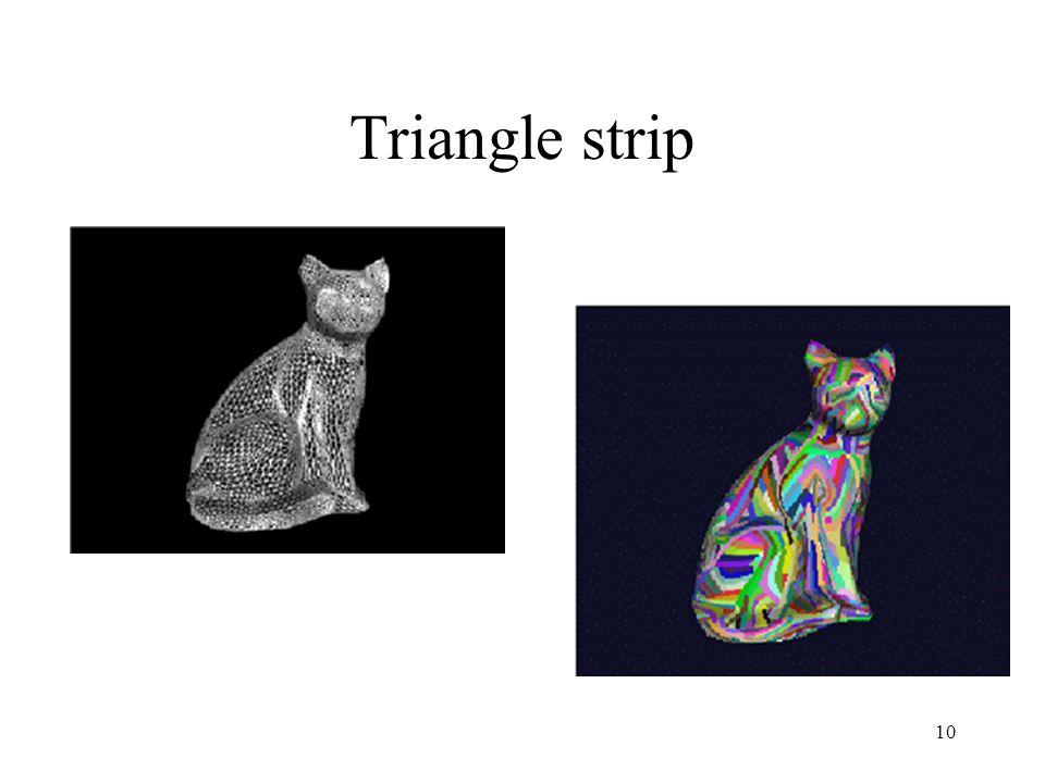 10 Triangle strip
