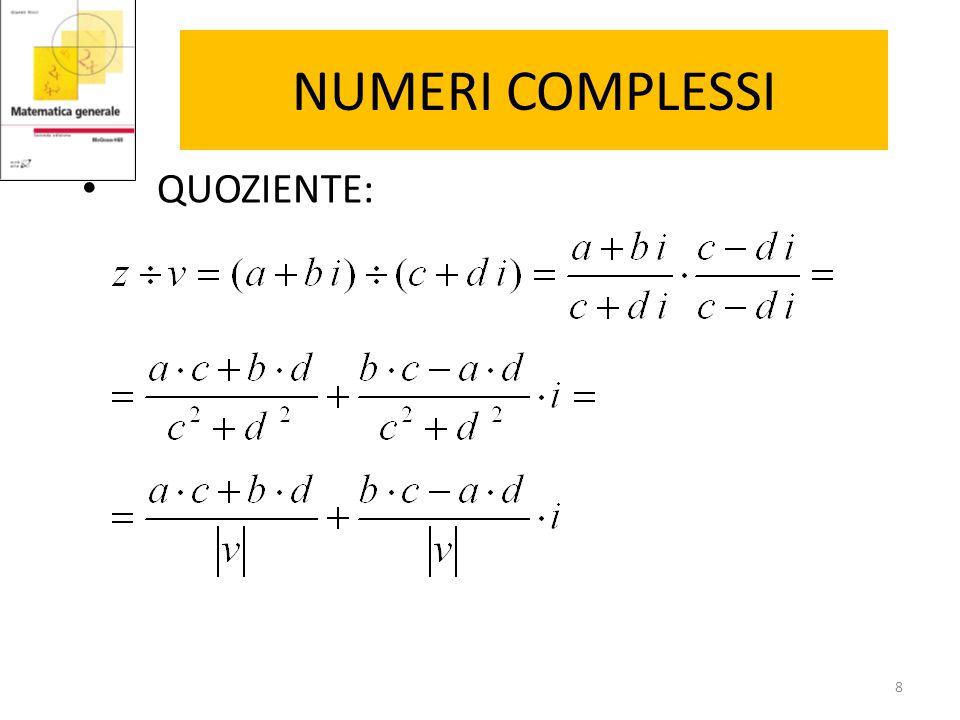 COORDINATE POLARI P ha coordinate cartesiane (1, 1) Le coordinate polari di P sono: Nell'esempio: 9