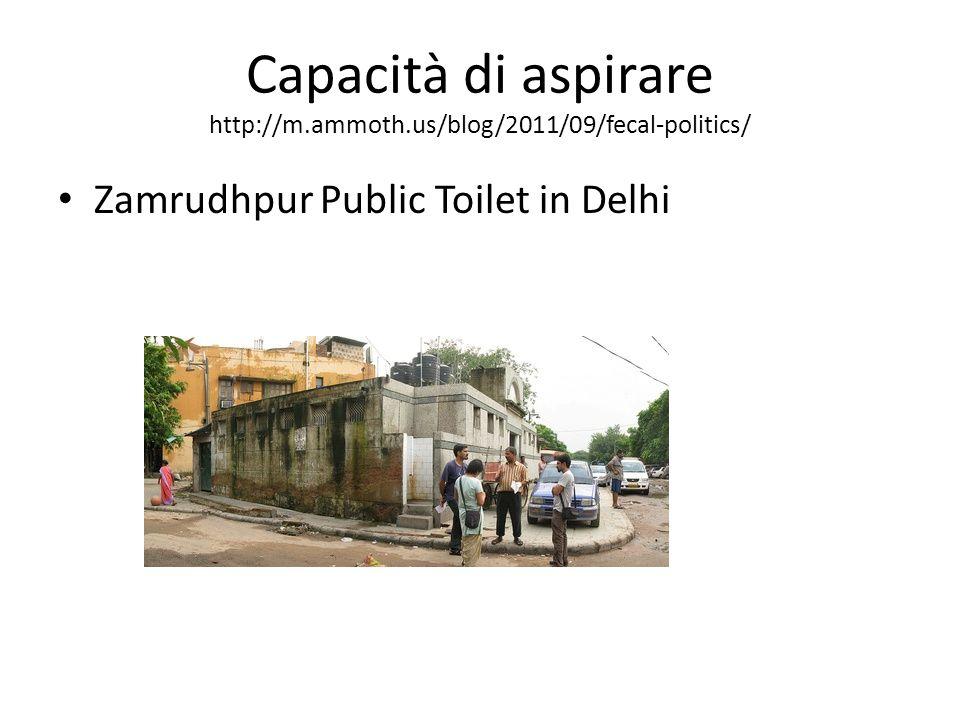 Capacità di aspirare http://m.ammoth.us/blog/2011/09/fecal-politics/ Zamrudhpur Public Toilet in Delhi