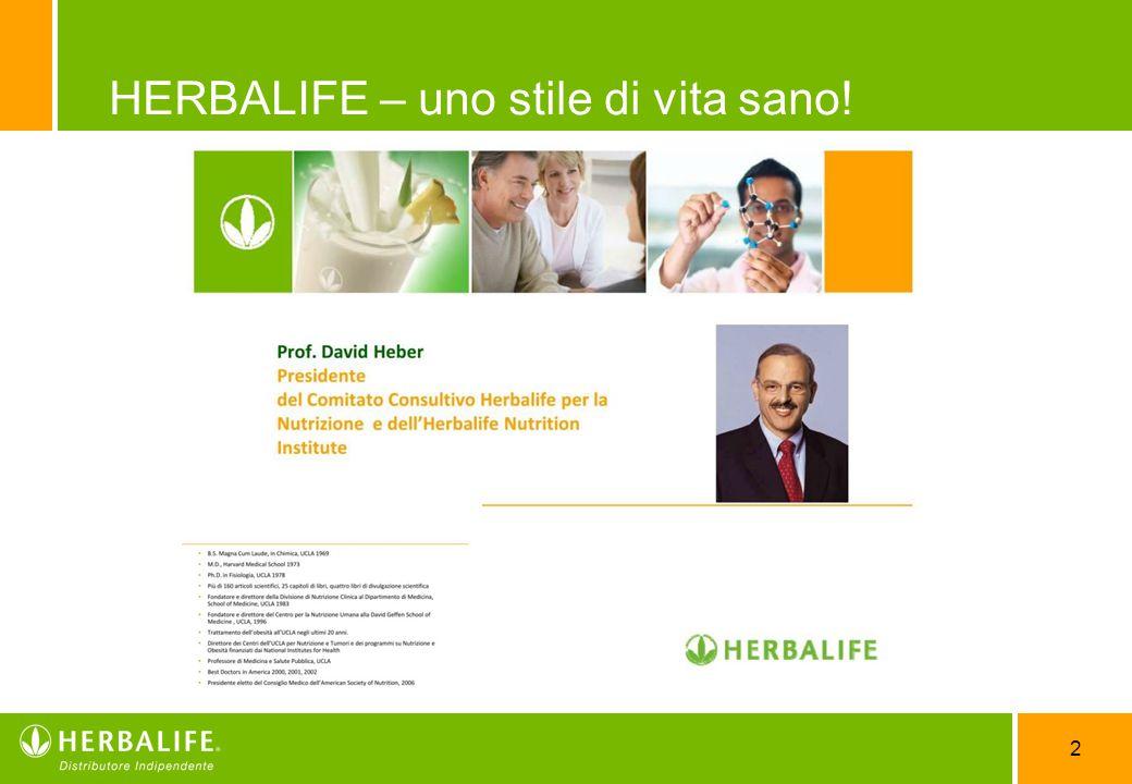 2 HERBALIFE – uno stile di vita sano!