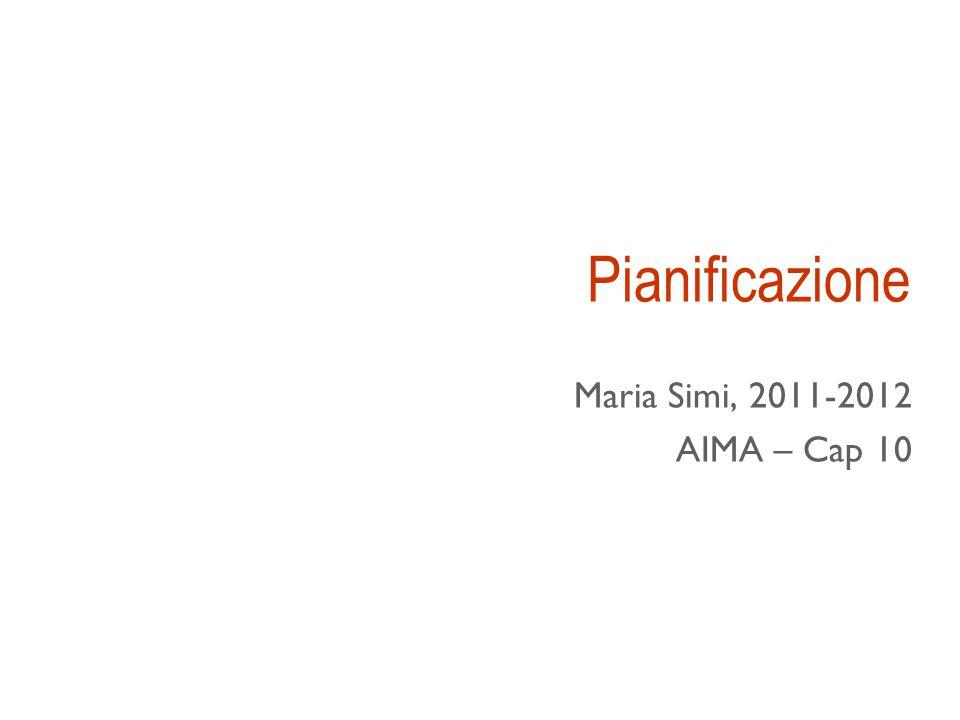 Pianificazione Maria Simi, 2011-2012 AIMA – Cap 10