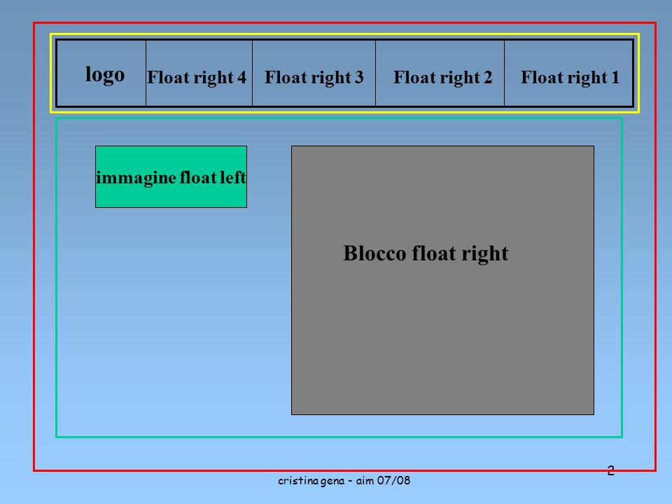 cristina gena - aim 07/08 2 logo Float right 1Float right 2Float right 3Float right 4 immagine float left Blocco float right