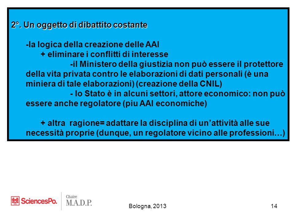 Bologna, 201314 2°.