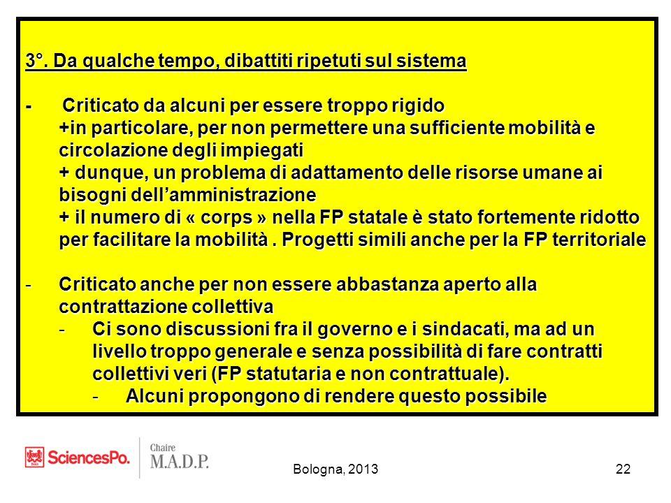 Bologna, 201322 3°.