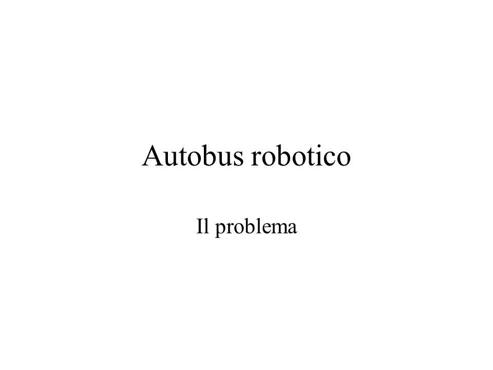 Autobus robotico Il problema