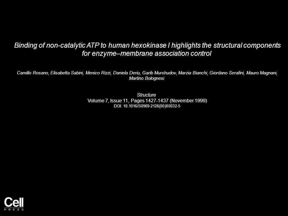 Figure 1 Structure 1999 7, 1427-1437DOI: (10.1016/S0969-2126(00)80032-5)