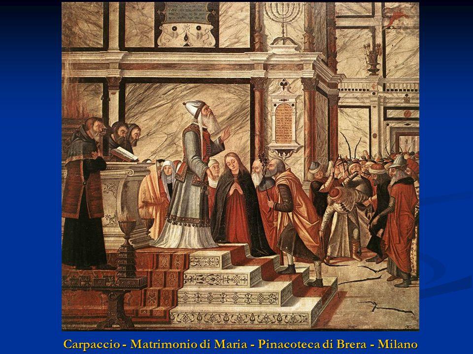 Carpaccio - Matrimonio di Maria - Pinacoteca di Brera - Milano