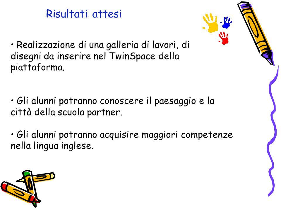 Procedura di lavoro Gli alunni faranno disegni relativamente ai seguenti argomenti: 1.La propria casa (Ottobre) 2.Paesaggio autunnale (Novembre) 3.Pae
