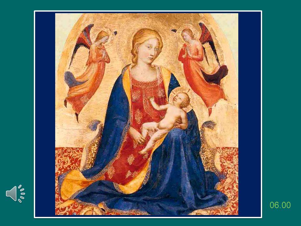 Cari amici, nell'Anno della fede vi lascio questa icona di Maria pellegrina, che segue il Figlio Gesù e precede tutti noi nel cammino della fede.