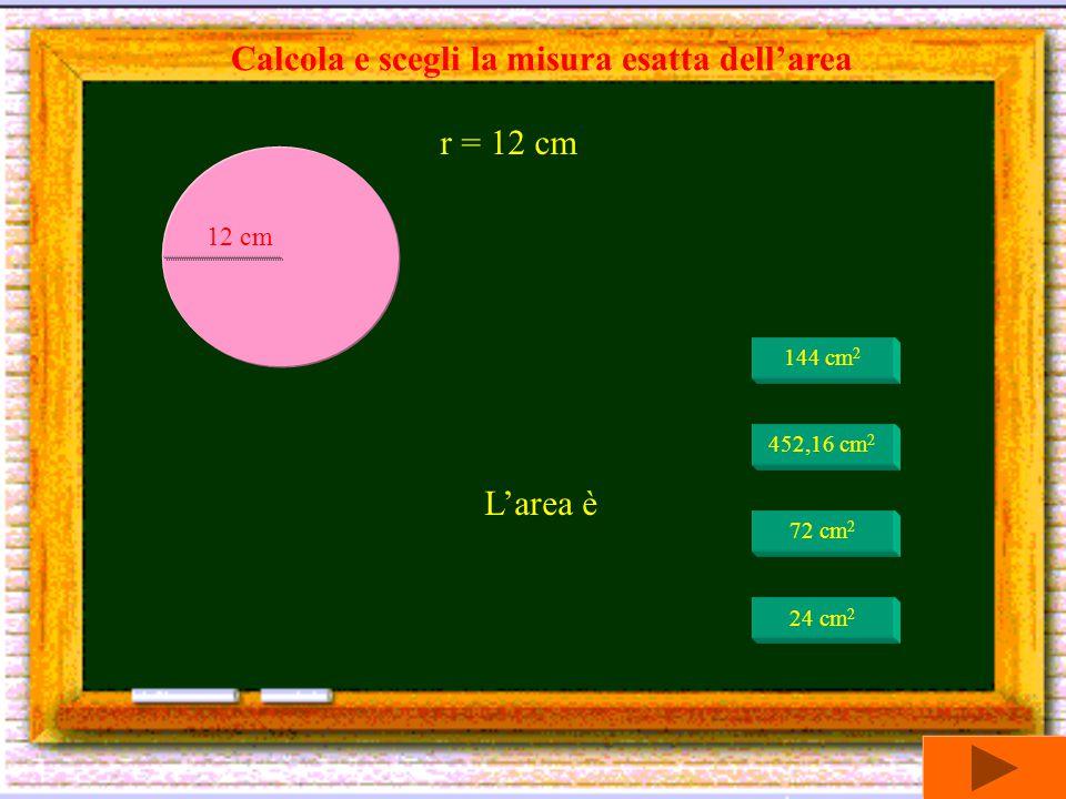 circonferenza x raggio : 2 AREA DEL CERCHIO = circonferenza x raggio : 2 raggio x raggio x 3,14
