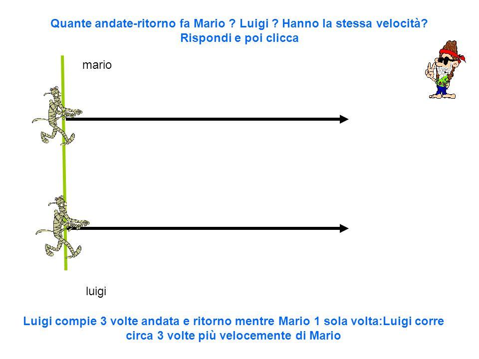 mario luigi Quante andate-ritorno fa Mario . Luigi .