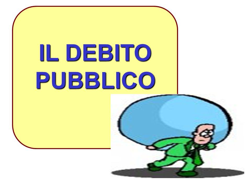 1 IL DEBITO PUBBLICO