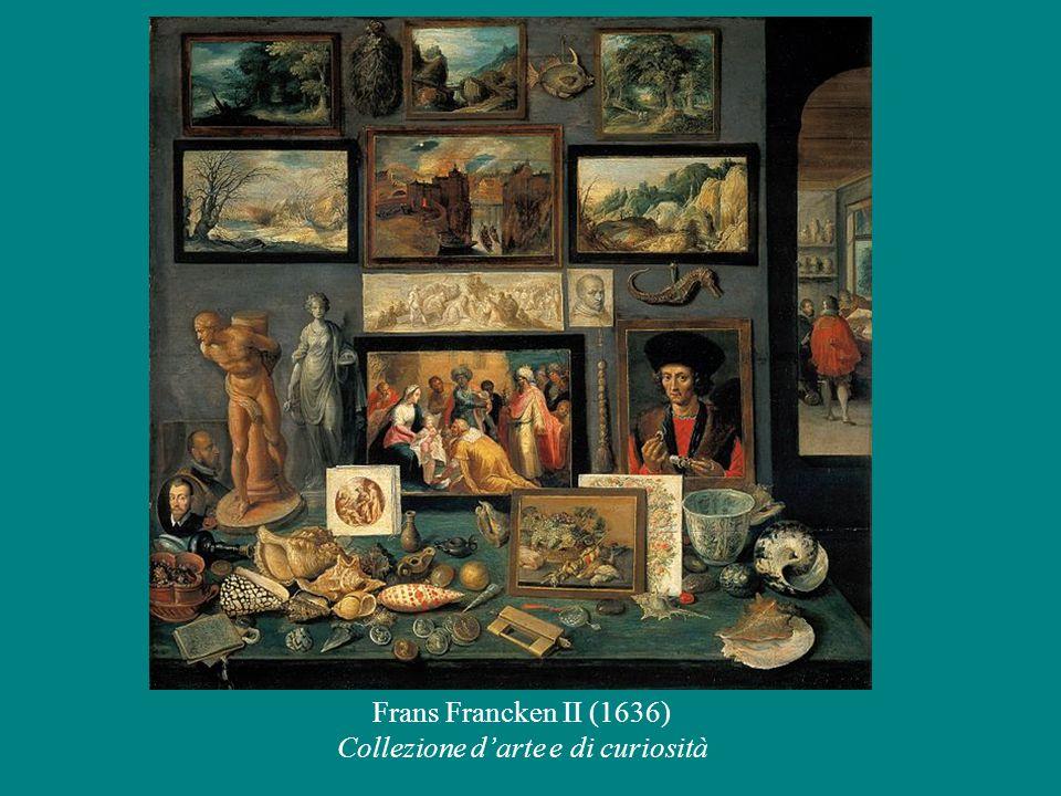 Frans Francken II (1636) Collezione d'arte e di curiosità