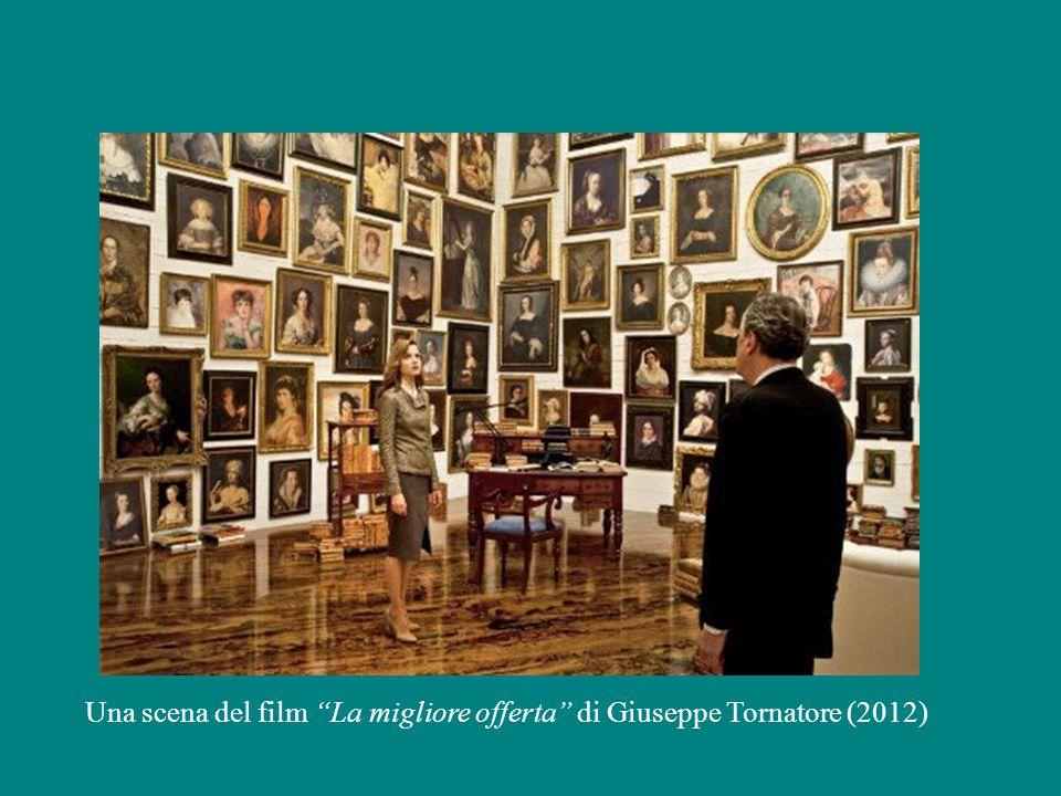 Una scena del film La migliore offerta di Giuseppe Tornatore (2012)