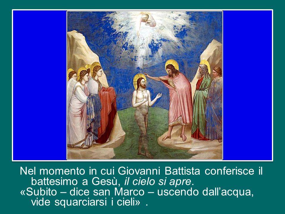 Oggi celebriamo la festa del Battesimo del Signore, che conclude il tempo di Natale.