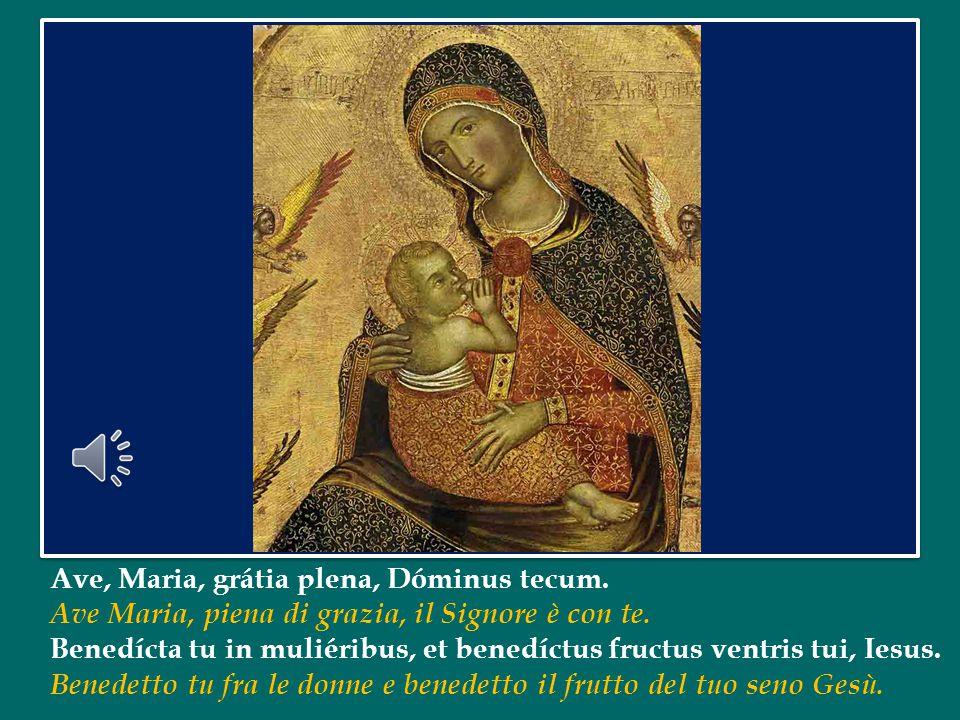 Maria, Madre di Dio e della Chiesa, accompagni il cammino di tutti noi battezzati; ci aiuti a crescere nell'amore verso Dio e nella gioia di servire il Vangelo, per dare così senso pieno alla nostra vita.
