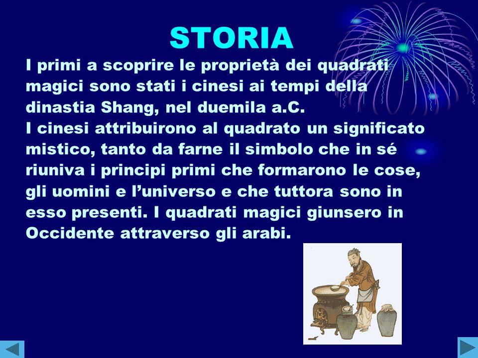 CORNELIO AGRIPPA Il matematico Cornelio Agrippa (1486-1535) si dedicò alla costruzione dei quadrati magici di ordine superiore a due, infatti costruì quadrati magici di ordine 3, 4, 5, 6, 7, 8, 9 e ad ognuno attribuì un significato astronomico: rappresentavano i sette pianeti allora conosciuti (Saturno, Giove, Marte, il Sole, Venere, Mercurio e la Luna).