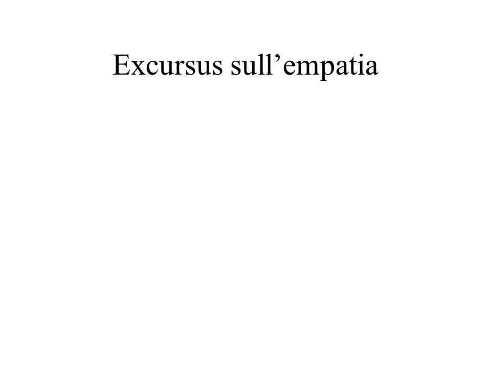 Excursus sull'empatia