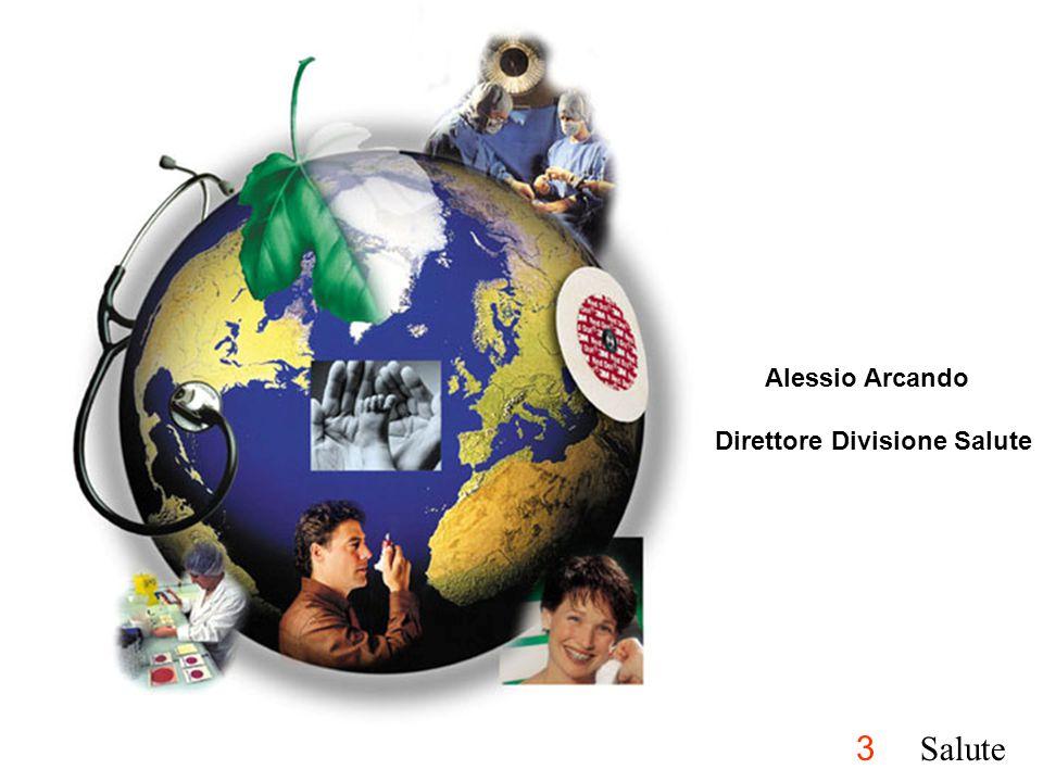 Alessio Arcando Direttore Divisione Salute 3 Salute