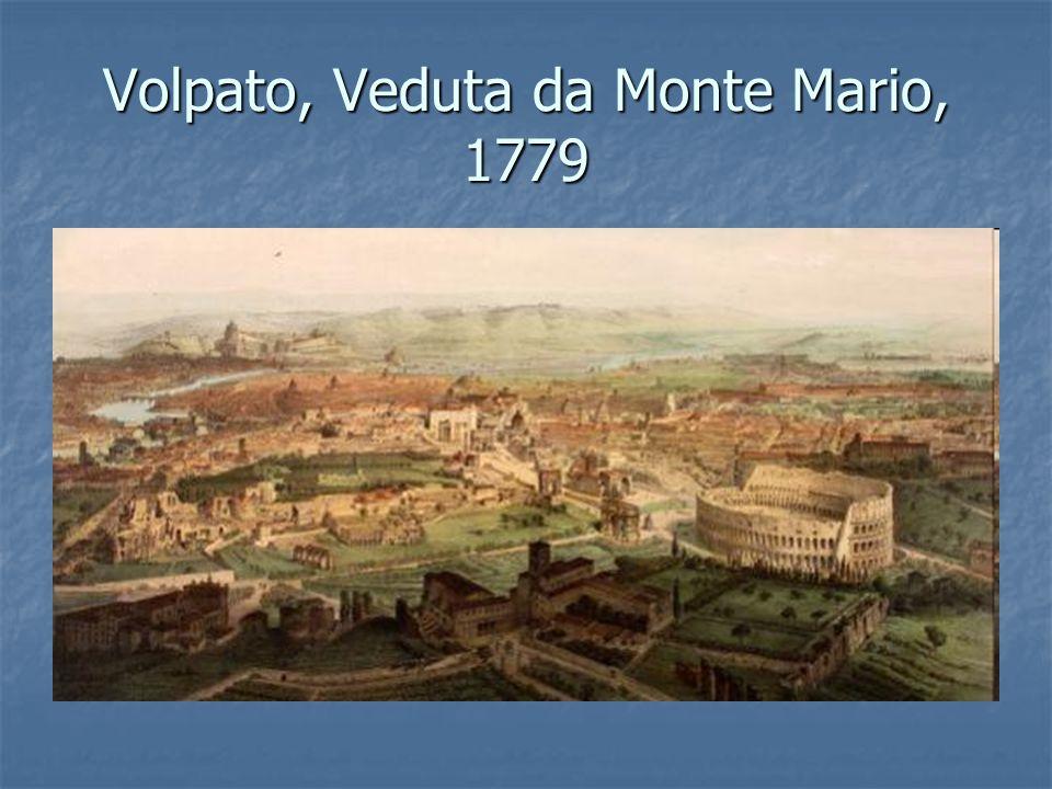Volpato, Veduta da Monte Mario, 1779