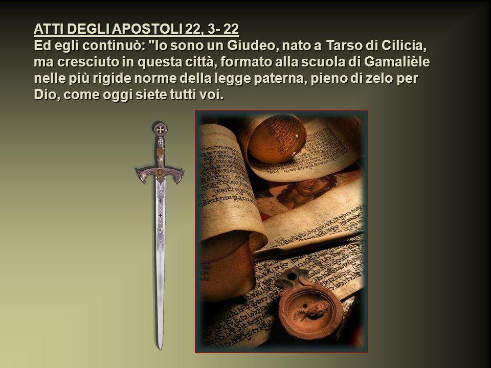 ATTI DEGLI APOSTOLI 18, 9 E il Signore disse in una notte in visione a Paolo: non temere; ma parla e non tacere.