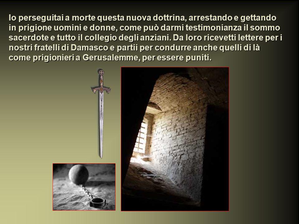 ATTI DEGLI APOSTOLI 22, 3- 22 Ed egli continuò: