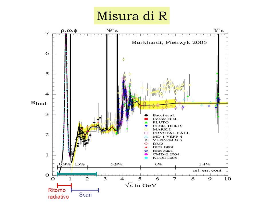 Considerazioni sperimentali (vedi anche LoI http://www.lnf.infn.it/conference/nucleon05/loi_06.pdf ): Protone : possibile una misura della polarizzazione con l'aggiunta di un polarimetro intorno alla regione di interazione; Neutrone : problema della rivelazione del neutrone per coincidenza n-nbar;  : misura della polarizzazione gratis .