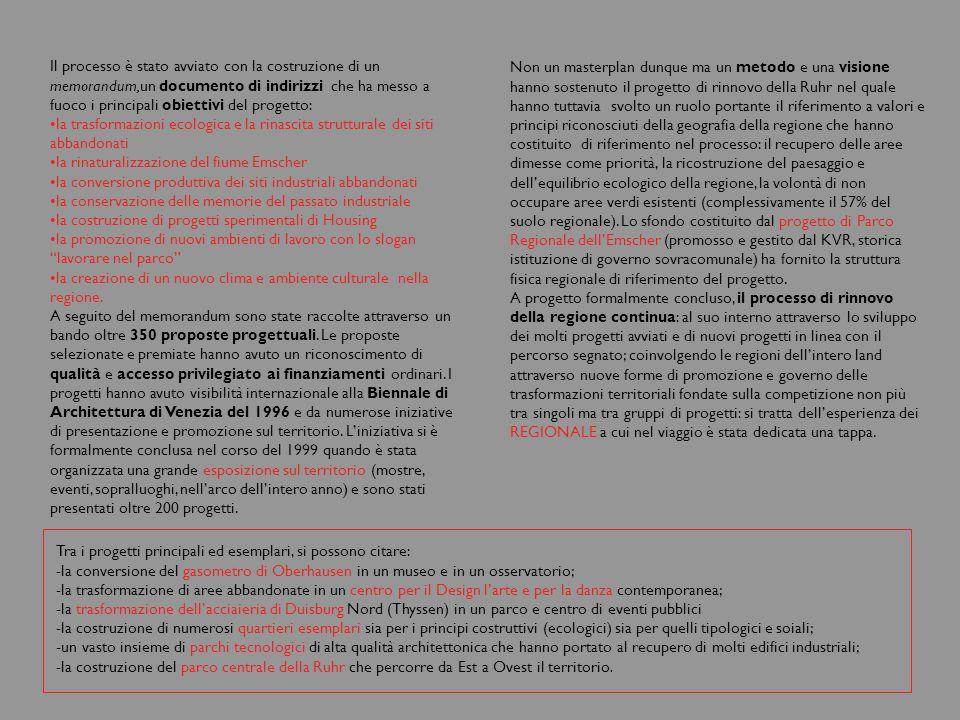Riferimenti in breve http://www.regionale2006.de/frames.htm