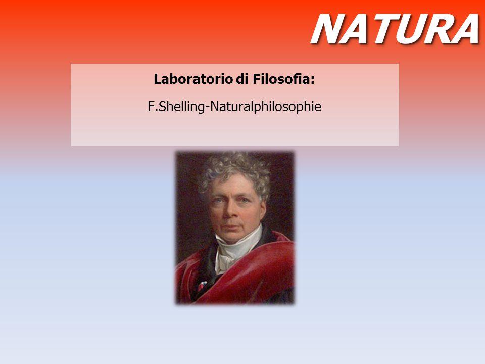 Laboratorio di Filosofia: F.Shelling-Naturalphilosophie NATURANATURA