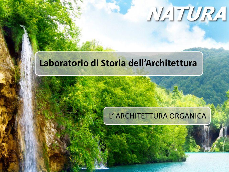 Laboratorio di Storia dell'Architettura L' ARCHITETTURA ORGANICA NATURANATURA