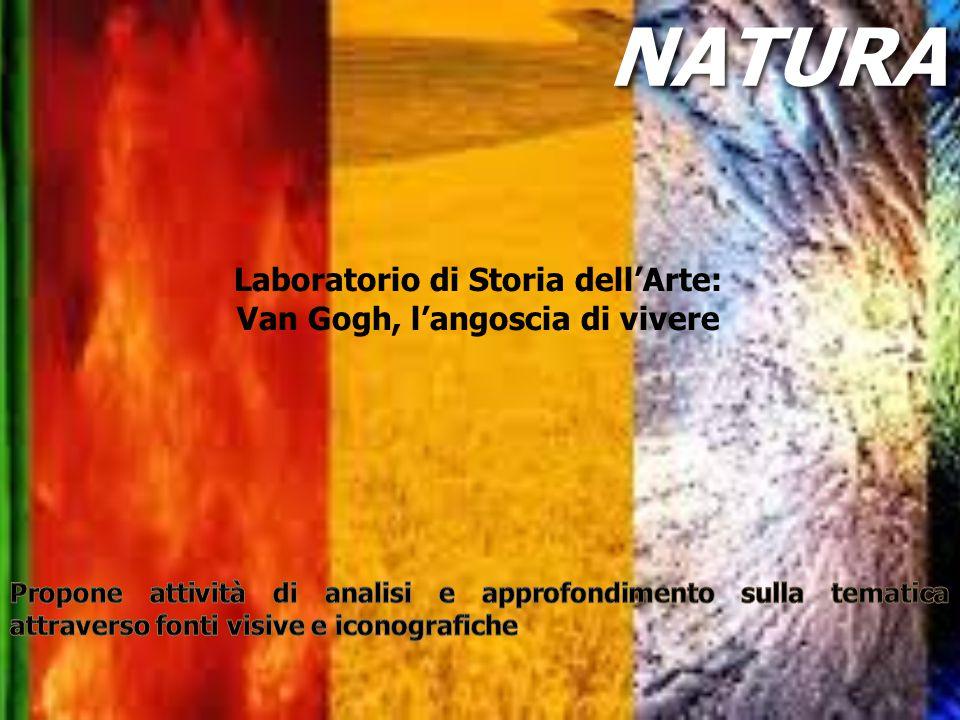 Laboratorio di Storia dell'Arte: Van Gogh, l'angoscia di vivere NATURANATURA