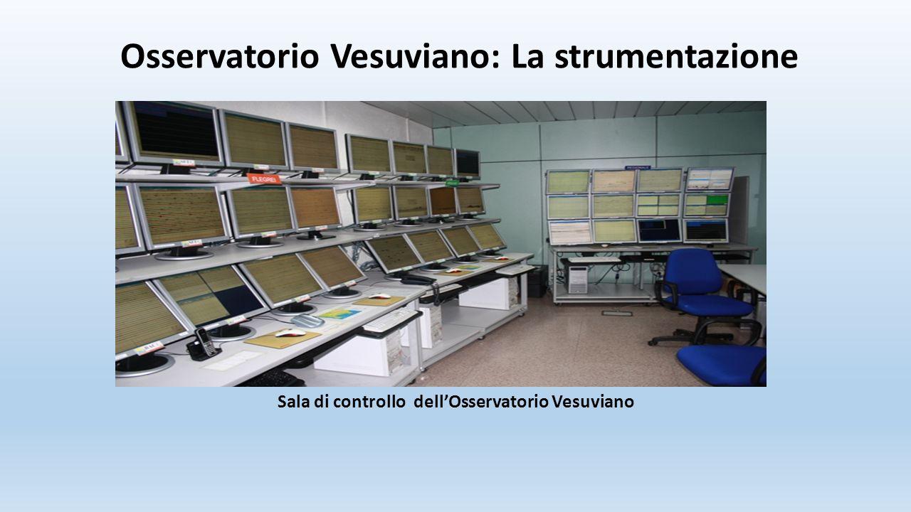 Osservatorio Vesuviano: La strumentazione Sala di controllo dell'Osservatorio Vesuviano