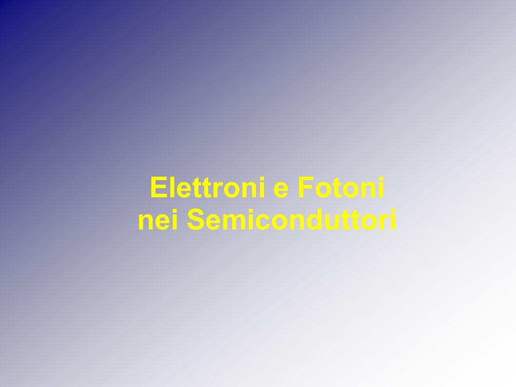 Elettroni e Fotoni nei Semiconduttori