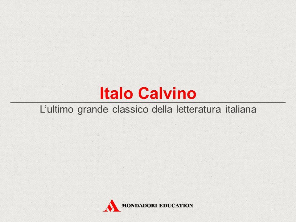 La sfida al labirinto Italo Calvino ha vissuto i momenti più significativi di un secolo intenso: il Novecento Ha raccontato in modo originale e in forme sempre nuove la complessità dell'esistenza contemporanea È «una richiesta poco pertinente quella che si fa alla letteratura, dato un labirinto, di fornire essa stessa la chiave per uscirne.