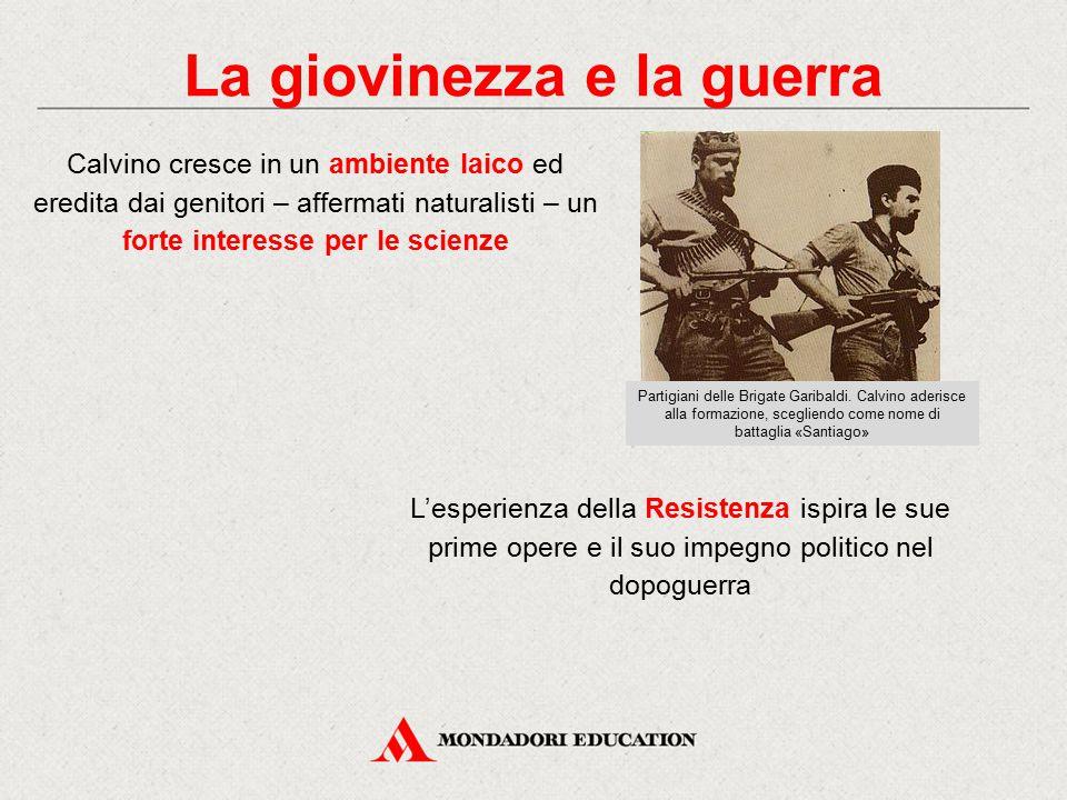 Il periodo torinese 1945: Calvino si trasferisce a Torino, dove si iscrive alla facoltà di Lettere.