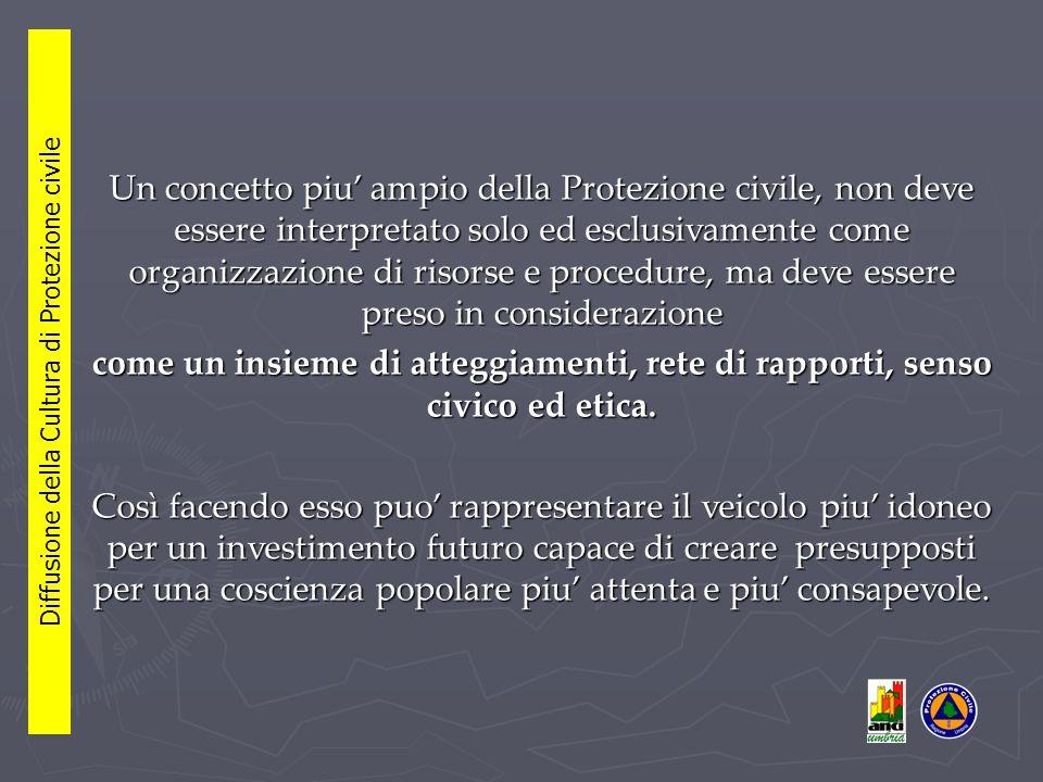 L'ANCI Umbria sta lavorando da due anni al Progetto didattico Alla larga dai pericoli con il sostegno attivo dei gruppi di Volontariato locali rivolto alla più giovane cittadinanza umbra.
