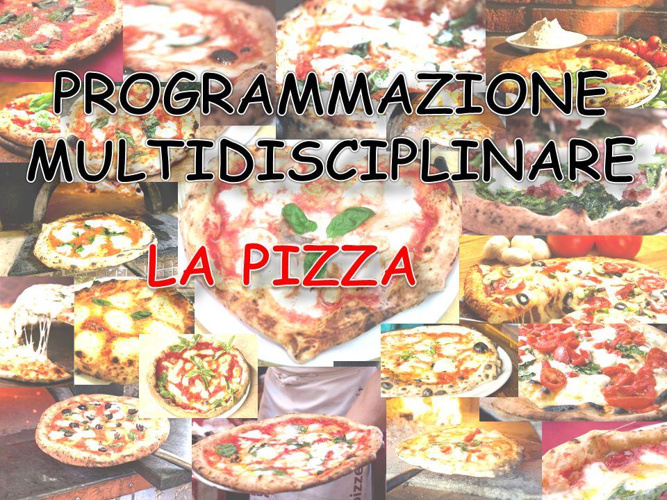 La pizza Geografia Fisica Storia Latino Italiano Matematica Chimica Scienze Naturali PROGRAMMAZIONE MULTIDISCIPLINARE: LA PIZZA DISCIPLINE COINVOLTE: