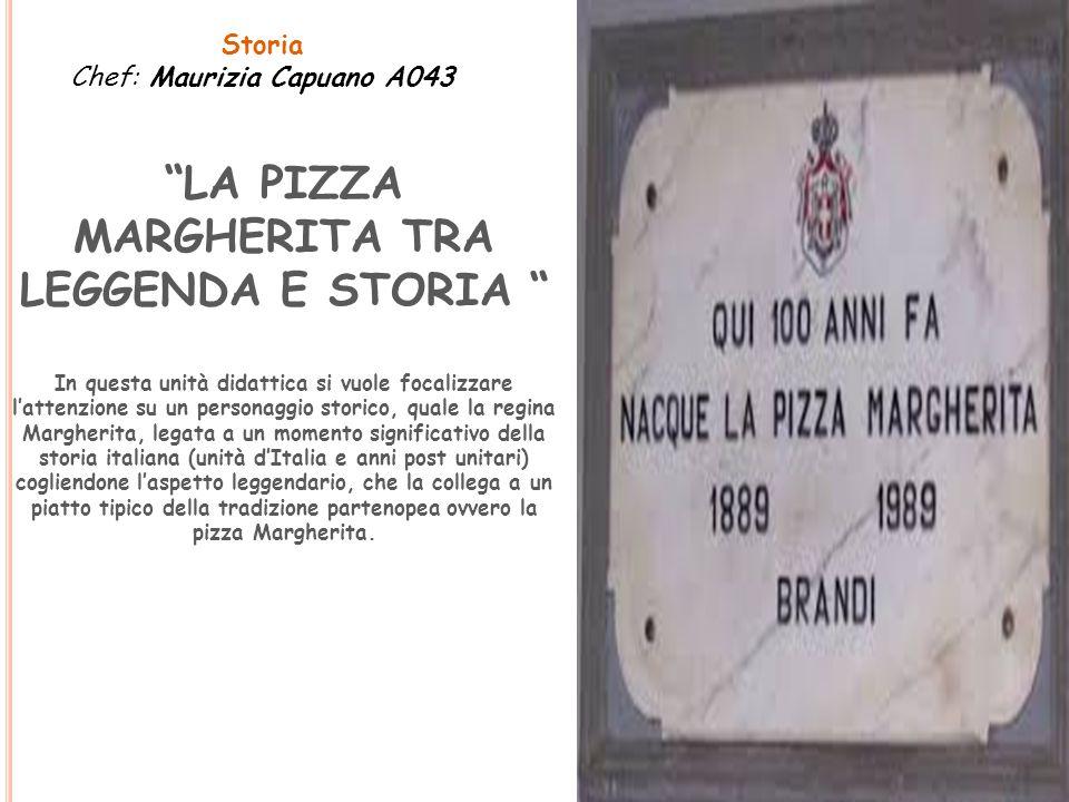 """""""LA PIZZA MARGHERITA TRA LEGGENDA E STORIA """" In questa unità didattica si vuole focalizzare l'attenzione su un personaggio storico, quale la regina Ma"""