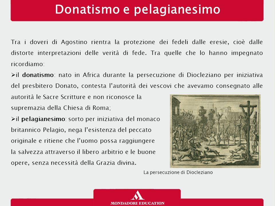 Tra i doveri di Agostino rientra la protezione dei fedeli dalle eresie, cioè dalle distorte interpretazioni delle verità di fede.