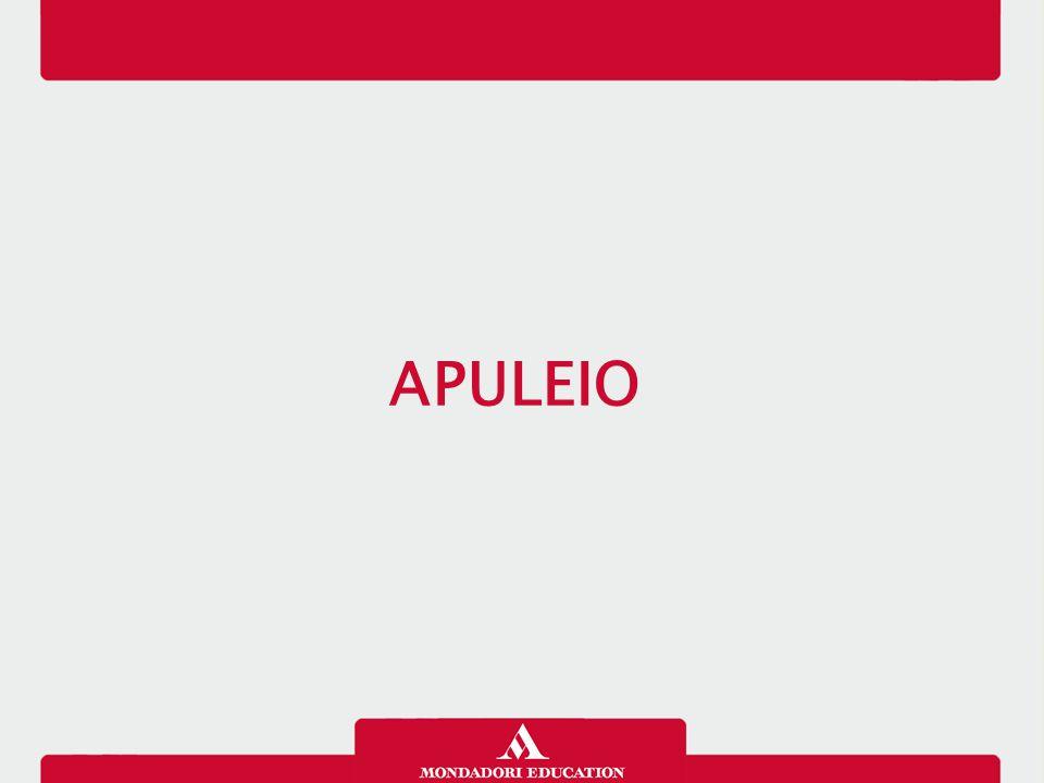 Apuleio nasce a Madaura in Africa intorno al 125 d.C.