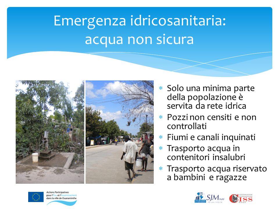 Sette quartieri di Ouanaminthe sono stati rinforzati, sono capaci di impegnarsi in modo duraturo per la tutela igienica e ambientale e dispongono di un quadro di consultazione e cooperazione con le istituzioni statali.