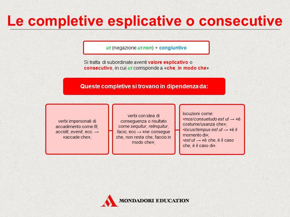 Le completive dichiarative quod + indicativo (o rarissimamente il congiuntivo) Si tratta di subordinate aventi valore dichiarativo, in cui quod corris