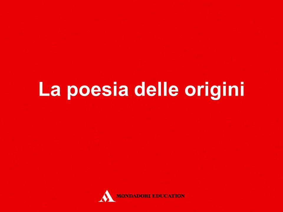 La poesia delle origini