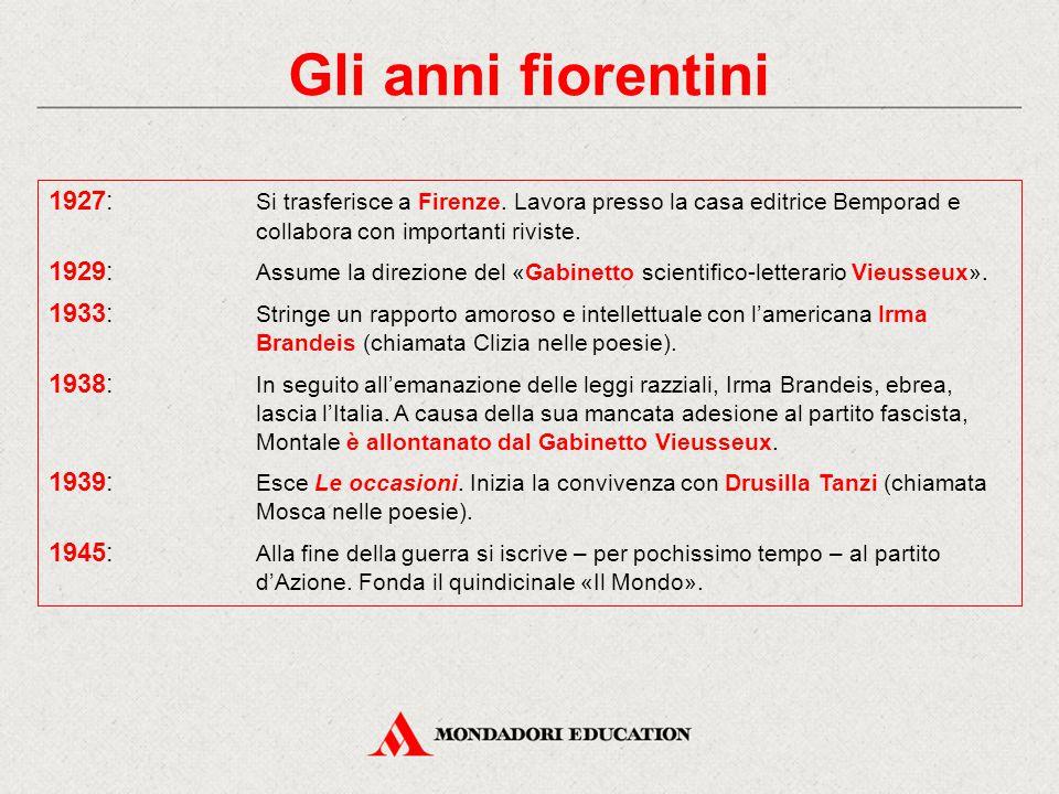 Gli anni milanesi 1948: È assunto come redattore al «Corriere della Sera» e si trasferisce a Milano.
